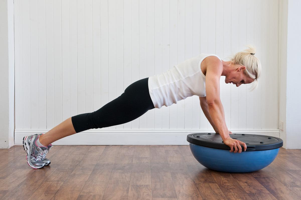Bosu fitness training exercises for horse riders | An ...